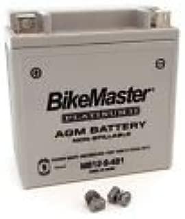 BikeMaster AGM Platinum II Battery - 12N9-4B-1 - Compatible with Honda CH150 CH125 CL160 CB175 CB200T Twinstar 200 Aprilia Sportcity 100 Scarabeo