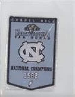 1982 National Champions (Basketball Card) 2010-11 UD North Carolina Basketball - Championship Banner Patches #NoN