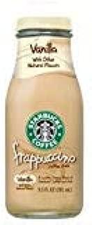 Starbucks Frappuccino Vanilla 9.5 ounce glass bottles. 15 count per case