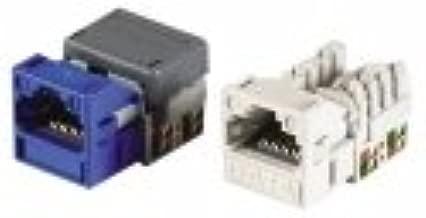 Systimax - Mgs400bh-bulk-112 - (priced Pack) 1-port Jack 110 Utp Rj45 Cat6 T568a/b Gigaspeed Orange 760077156 100/pk