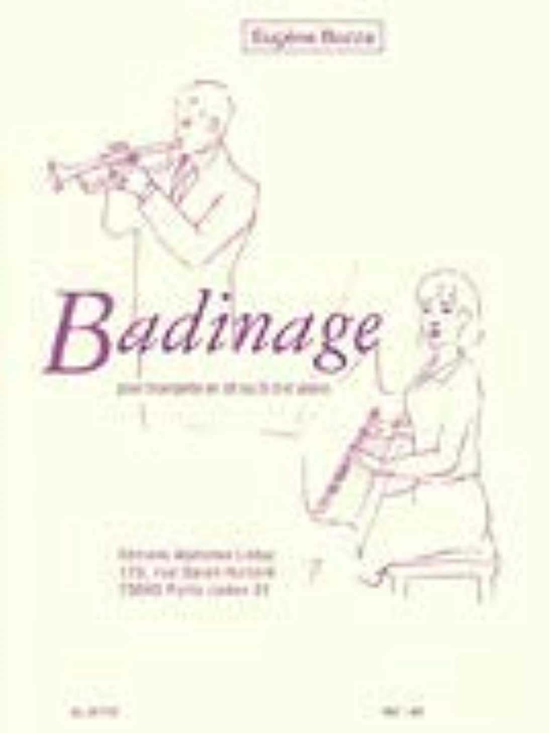 Badinage: for Trumpet and Piano
