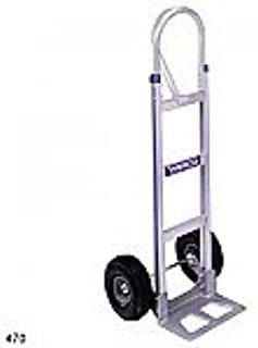 Milwaukee Hand Trucks 47186 Dual Loop Handle Truck with 8-Inch Solid Puncture Proof Tires