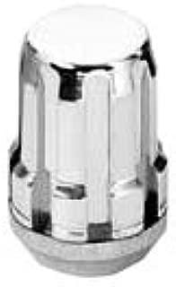 McGard 65357 Chrome Cone Seat SplineDrive Lug Nut Set (M12 x 1.5 Thread Size) - Set of 4