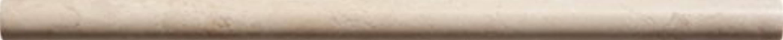 Crema Barla Decorative Pencil Liner Trim Molding 1/2'' X 12'' Polished Marble Bull Nose