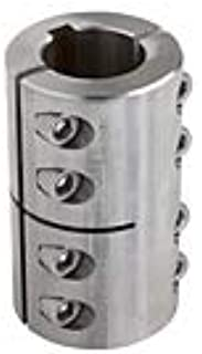 Climax GSCC-050-037-S 1//2^ X 3//8^ ID SPLIT Clamp Coupling SS