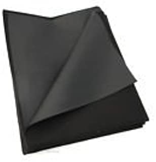 Texhide Black Vinyl Motorcycle Seat Cover Material - Matte - 24
