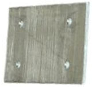 Fishing Systems by Traxtech Aluminum Backer Plates for Tracks for downriggers or trolling Bars on Boats w/Thin Hulls