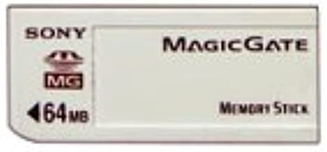 Sony 64 MB MagicGate Memory Stick (MSG64A)