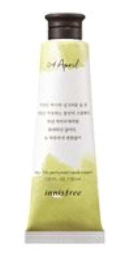 シロクマ最初に優雅Innisfree Jeju life Perfumed Hand Cream (4月 スモールウェディングブーケ) / イニスフリー 済州ライフ パフューム ハンドクリーム 30ml [並行輸入品]