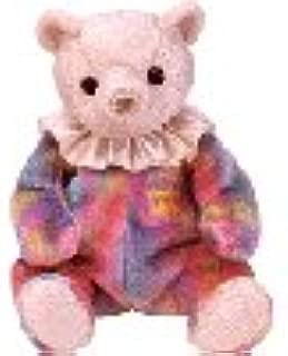 Ty Beanie Baby October Opal Birthstone Teddy Happy Birthday Bear