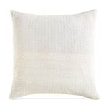 DKNY City Pleat White Euro Pillowsham