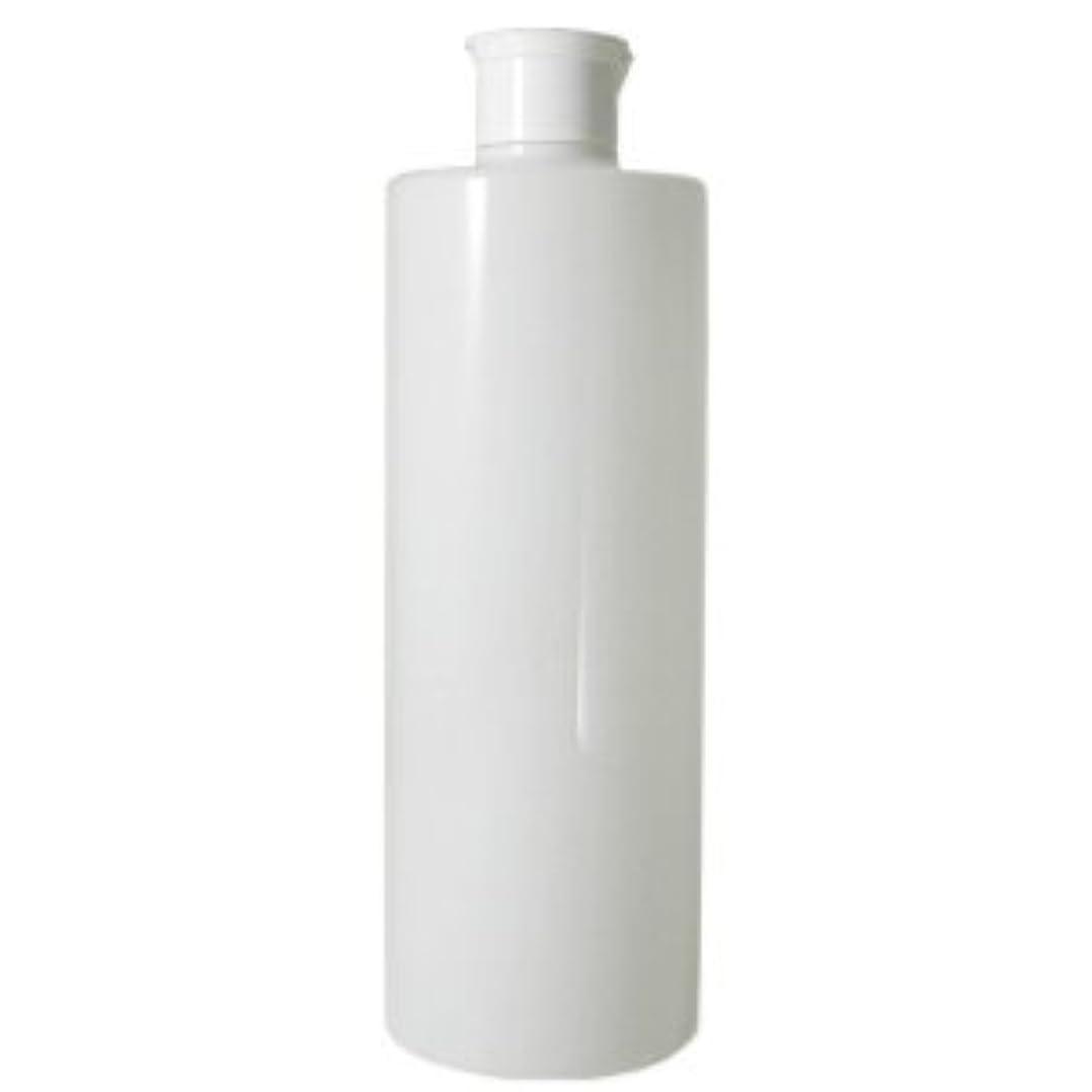 ごちそう不明瞭理由ワンタッチキャップ 乳白半透明容器 500ml