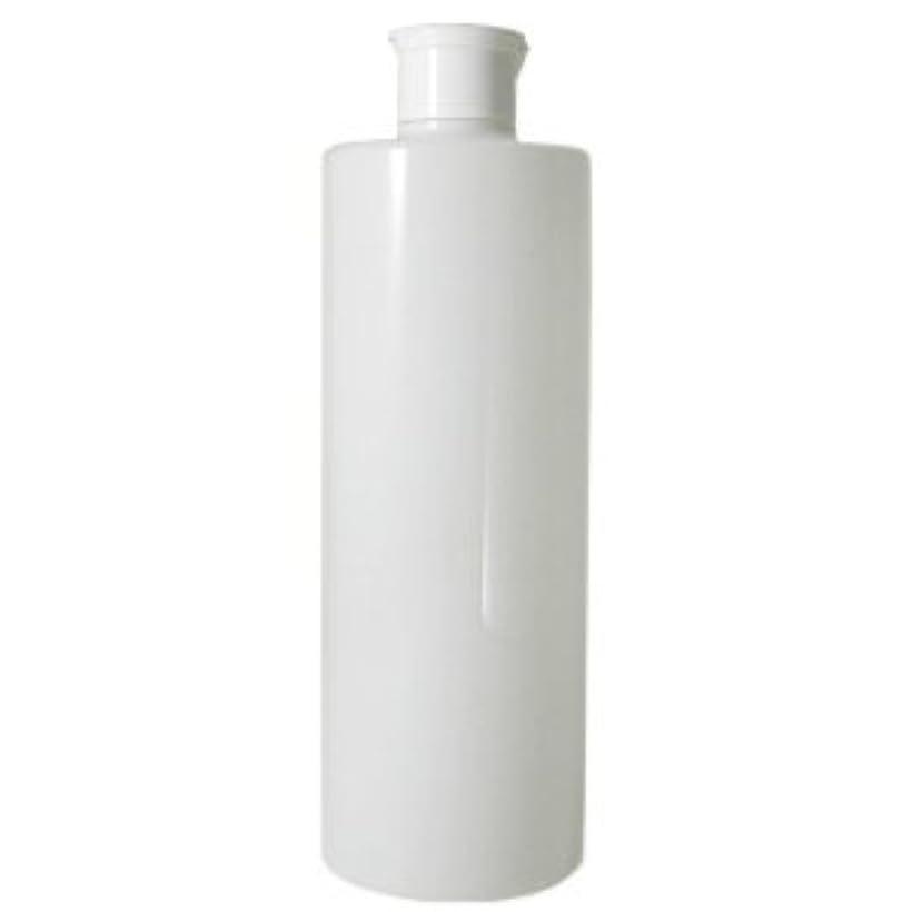 乏しいプットブロックするワンタッチキャップ 乳白半透明容器 500ml