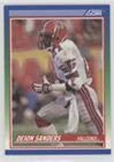 Deion Sanders (Football Card) 1990 Score 100 Hottest Players - [Base] #3