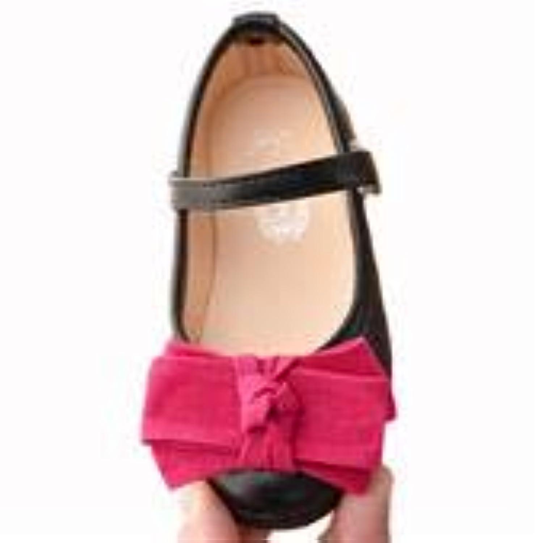 [YIJINGJING] フォーマルシューズ ガールズ 子供靴 ガールズシューズ ドレスシューズ 女の子 キッズ プリンセス風 可愛い蝶結び プレゼント 春秋夏 3色展開
