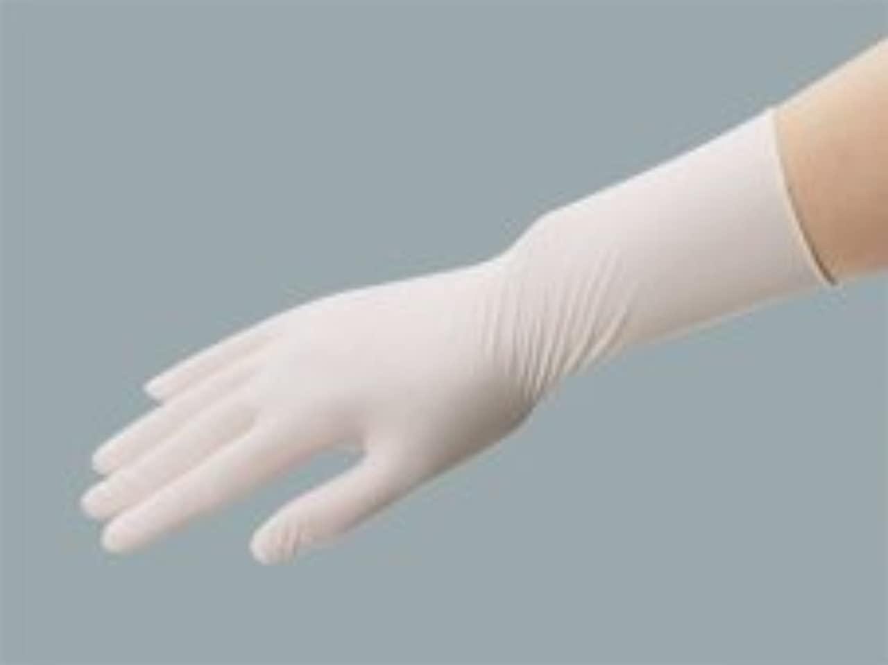 知性約極めて重要なエクセレント ラテックス手袋 NR-350粉付 Lサイズ(100枚入)