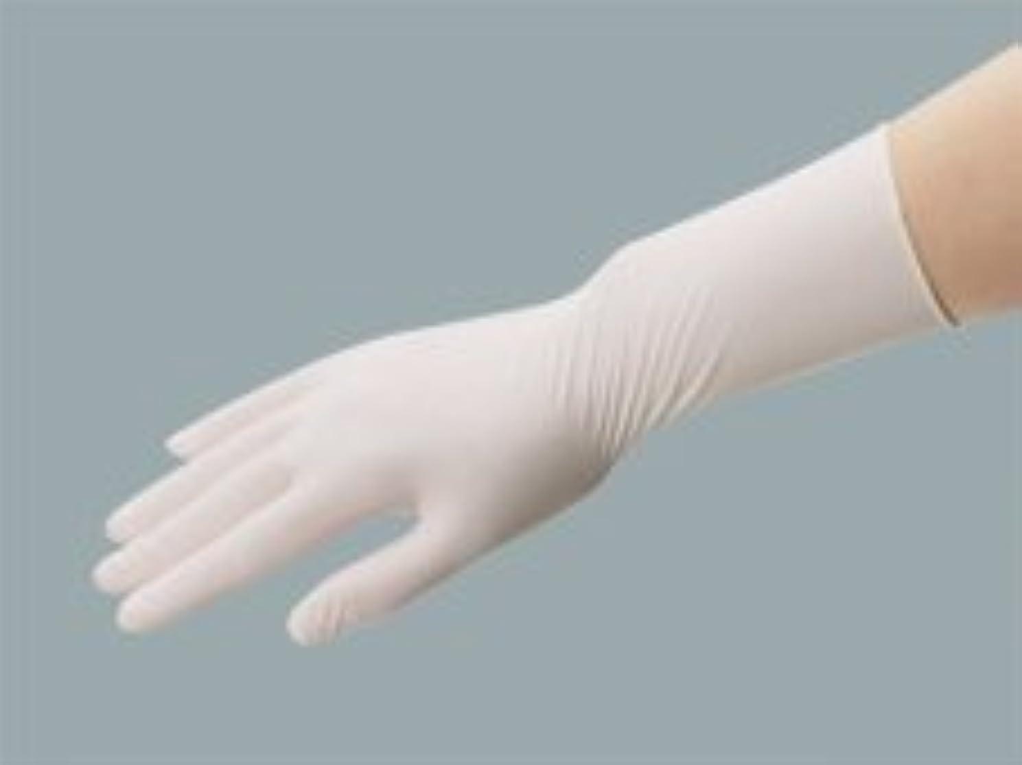 トラップクリーク長さエクセレント ラテックス手袋 NR-350粉付 SSサイズ(100枚入)