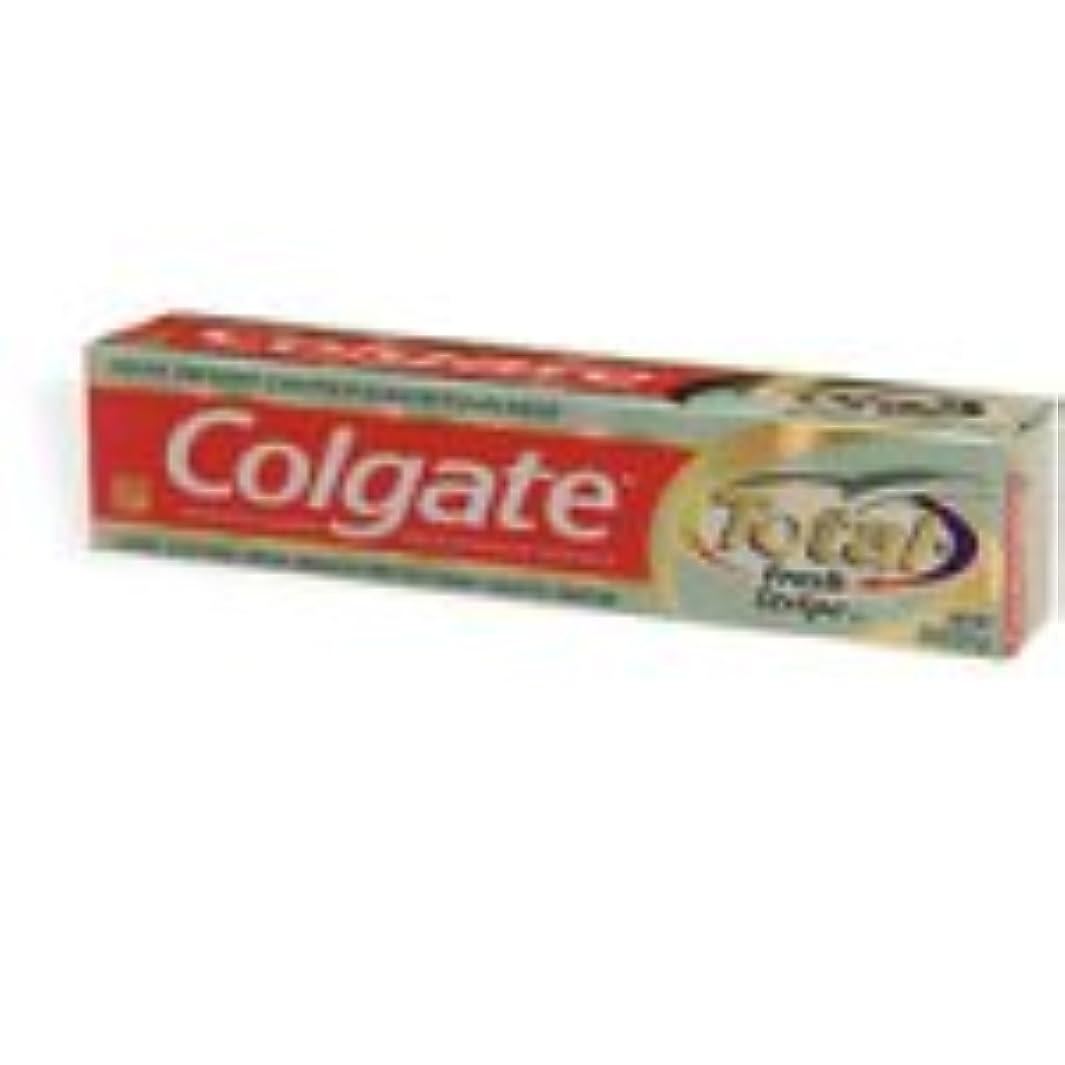 つば国籍無意味Colgate 合計12時間マルチプロテクションの歯磨き粉、ミントストライプ(7.8オンス)