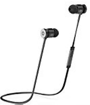 Rephoenix Bluetoothイヤホン ワイヤレスイヤフォン ノイズキャンセリング搭載 ヘッドホン ブラック