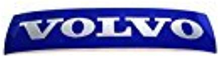 Genuine Volvo Blue Grille Emblem Badge fits: S60 & XC60 models (Larger Emblem)
