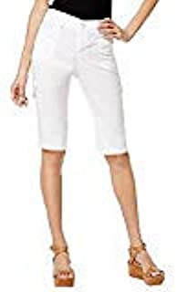 LEE Platinum Petite Cargo Shorts (White, 16P)