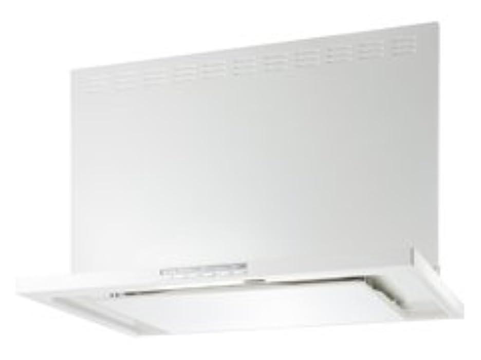 クローゼット修復複製富士工業 レンジフード エコシリーズ 間口750 総高さ600/700 色ホワイト【CLRL-ECS-751LW】 [納期10日前後]