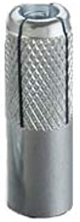 20//Pkg. 5//8 Inch Knurled Drop-in Anchor Compatibletool Zinc