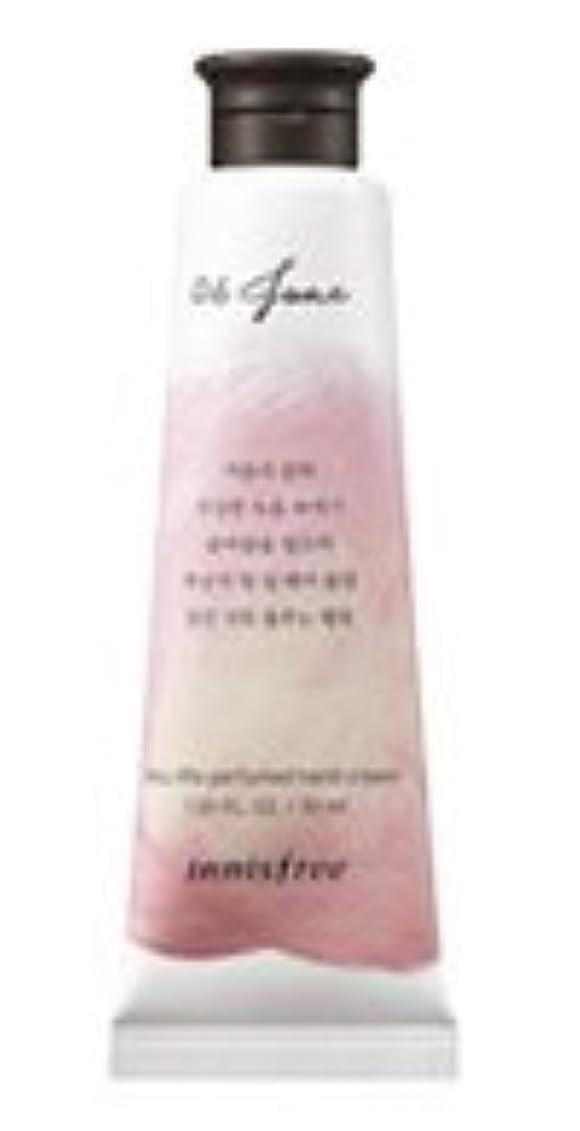 悲観的改革シェトランド諸島[1+1] イニスフリー 済州ライフパフューム ハンドクリーム (6月 桃) / Innisfree Jeju life Perfumed Hand Cream 30ml [並行輸入品]