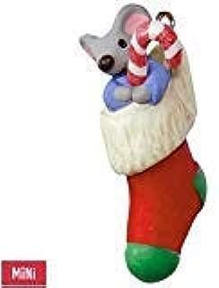 Hallmark Keepsake 2017 - Mouse in Stocking A Creature was Stirring Mini Ornament