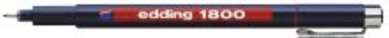 10 X edding Faserzeichner 1800 0,3 0,35mm blau 04 1800-03 003 B0076IX0S8     | Ich kann es nicht ablegen