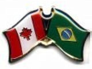 Home & Garden Humor Canada Friendship Flag Badge Lapel Pin Pin 5pcs