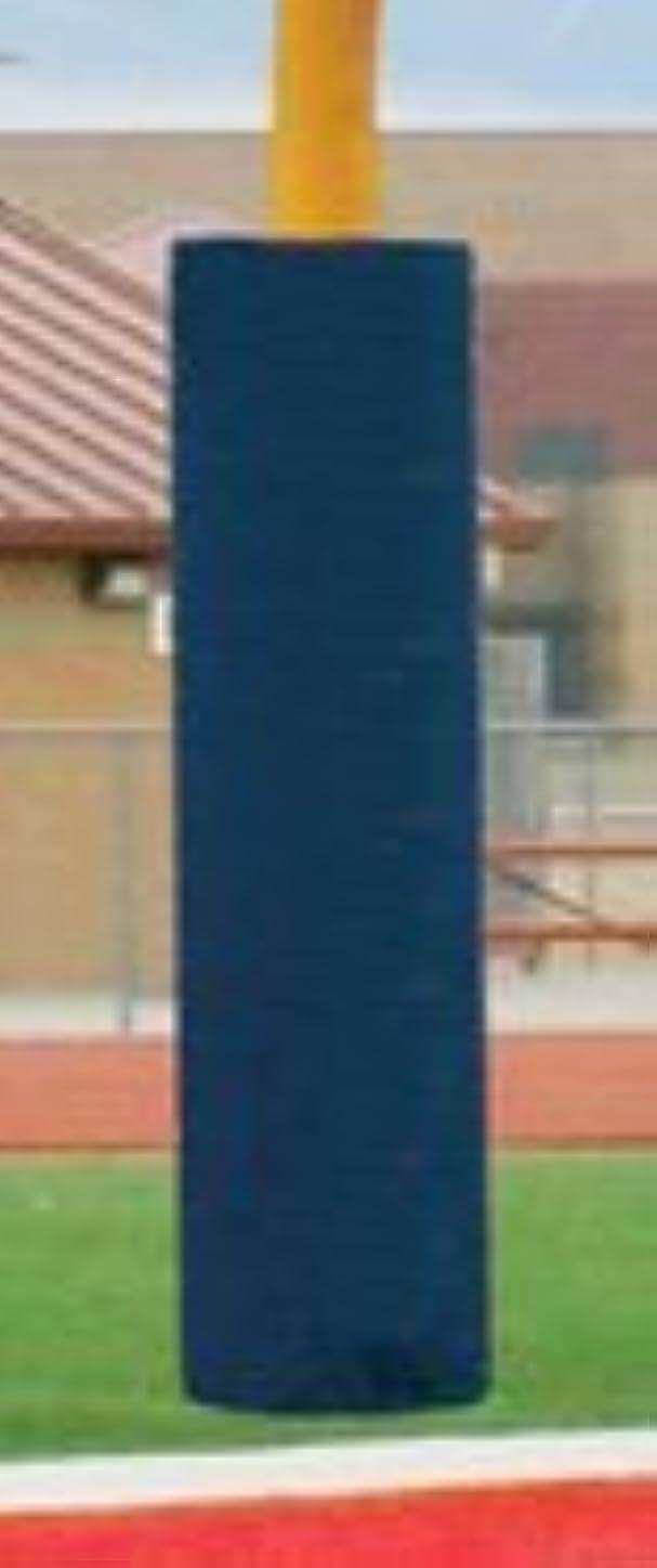 進行中ライドハウジング最初チームft6060?foam-vinyl Postパッドfor 16.81。Football goalpost44?;ロイヤルブルー