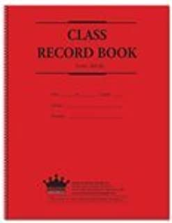 Class Record Book, 8-subject