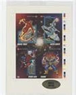 Human Torch; Silver Surfer; Spider-Man; Thanos #25845/30,000 (Trading Card) 1992 Impel Marvel Universe Series 3 - Limited Edition Sheets #57-15-1-125