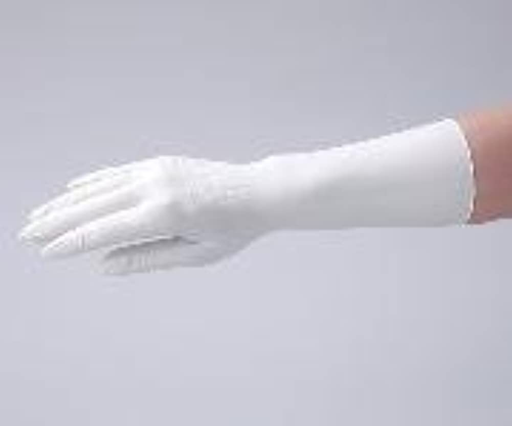 作る治世上院議員アズワン1-2323-04クリーンノールニトリル手袋(ペアタイプ)L左右各100枚入