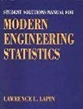 Student Solutions Manual for Lapin's Modern Engineering Statistics