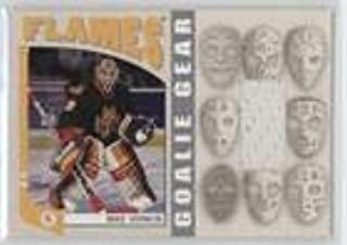 Mike Vernon #/70 (Hockey Card) 2004-05 In the Game Franchises Canadian Edition - Goalie Gear - Silver #GG-07