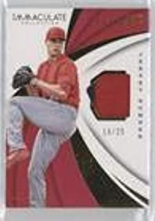 Jack Flaherty #19/25 (Baseball Card) 2018 Panini Immaculate Collection - Immaculate Swatches - Jersey Number #IS-JF