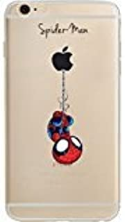 Batman, Wonder Woman, Catwoman, Harley Quinn, Spider Man, Deadpool Jelly Clear Case for Apple iPhone 5 / Iphone 5s / iPhone SE (Spider Man)