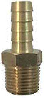 Brass Fuel Line Hose Barb [ KFPS0606 ] Conector de Gas Adaptador de manguera Espiga x