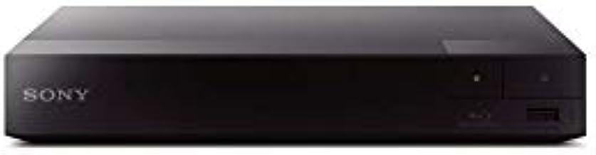 Sony BDP-S3700 Region Free Blu-ray Player, Multi Region Smart WiFi 110-240 Volts, 6FT HDMI Cable & Dynastar Plug Adapter B...