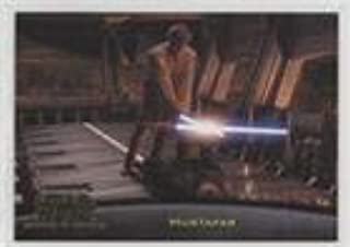 2017 TOPPS STAR WARS DUEL ON MUSTAFAR TRADING CARD #52