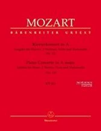 Concerto 12a, in Sol Maggiore KV 414–klav Orch–arrangiamento per due violini–Viola–Violoncello–Pianoforte/Compositore: Mozart Wolfgang Amadeus