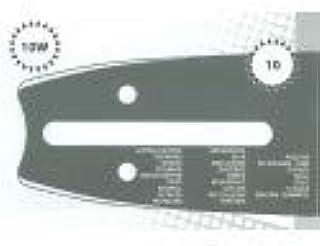 Guía de motosierra 40 cm adaptable KOMATSU GZ4000 tipo 325 1,3 mm 66 eslabones