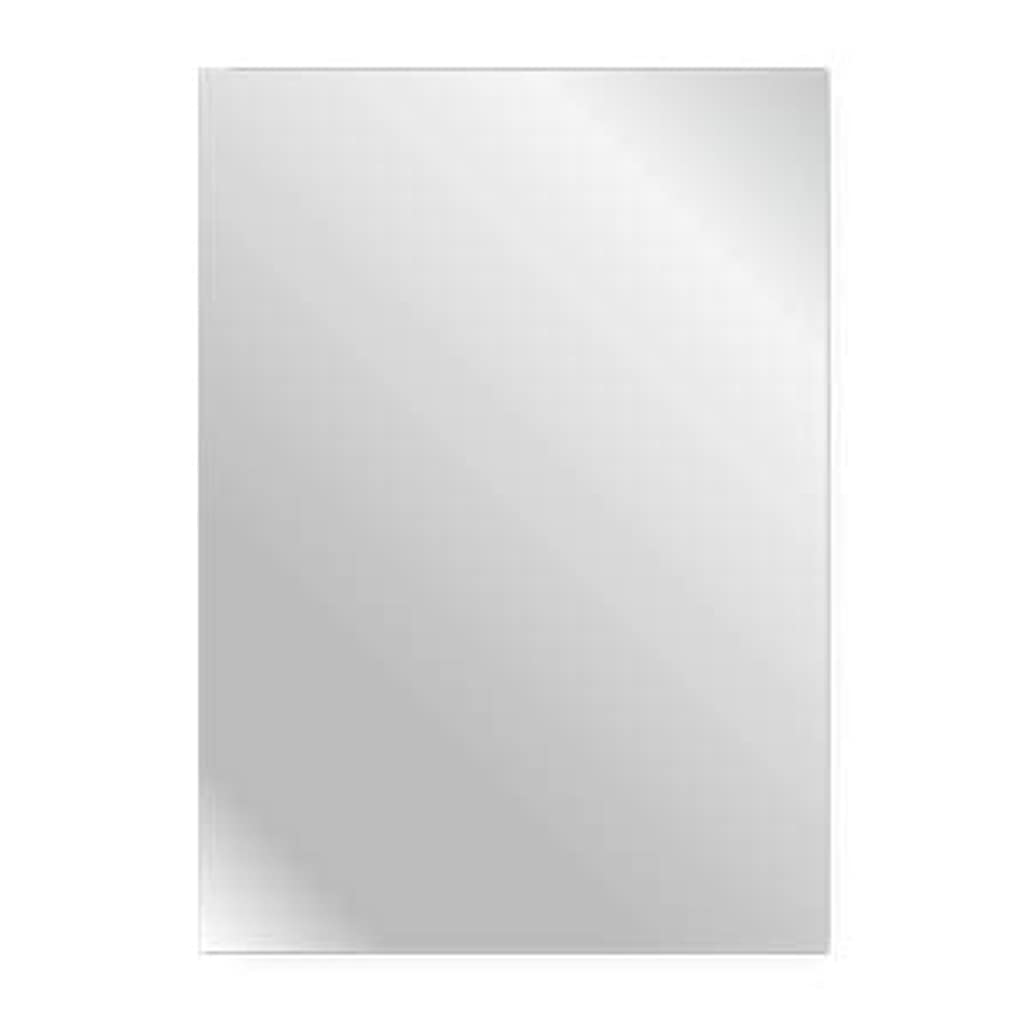 ストレンジャー宝石極めて重要なサイズオーダー対応可能 (500×600mm) 四角形 ミラー 厚み5mm 10サイズから選べる / 貼付け鏡 四角形鏡 玄関鏡 枠無し鏡 姿見 壁鏡 シンプル鏡 家具 鏡 ミラー