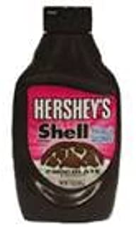 Hershey's Chocolate Shell Topping, 7.25-Ounce Bottle (Pack of 24)