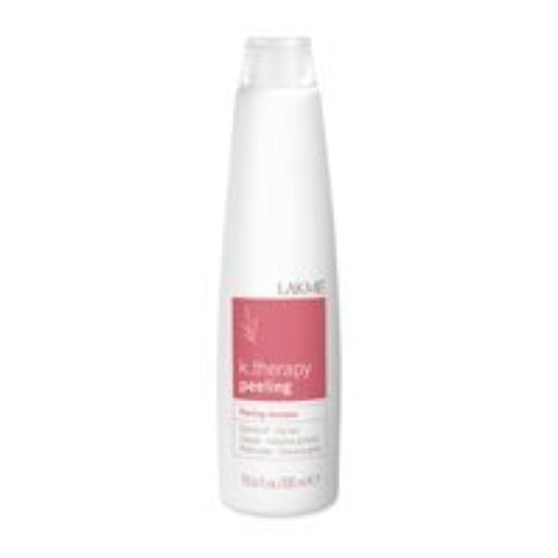 十分なアンビエント割るLakme K.Therapy Peeling Shampoo Oily Hair 10.2 oz [並行輸入品]