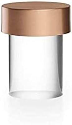 Flos Last Order Lampe de table à batterie rechargeable pour extérieur par Michael Anastassiades – cuivre satiné, transparent