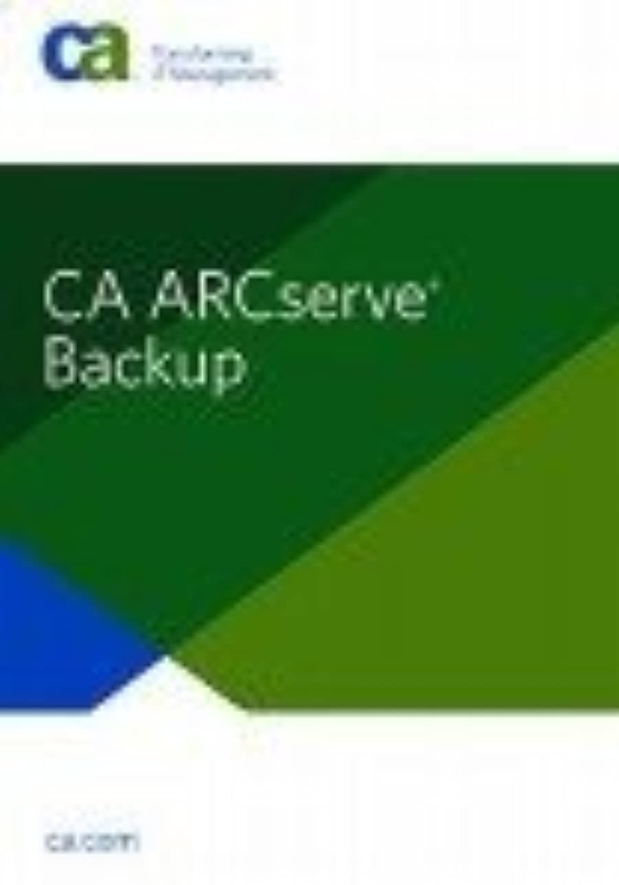 ますます歯痛接辞CA ARCserve Backup r12.5 Client Agent for Windows - Japanese