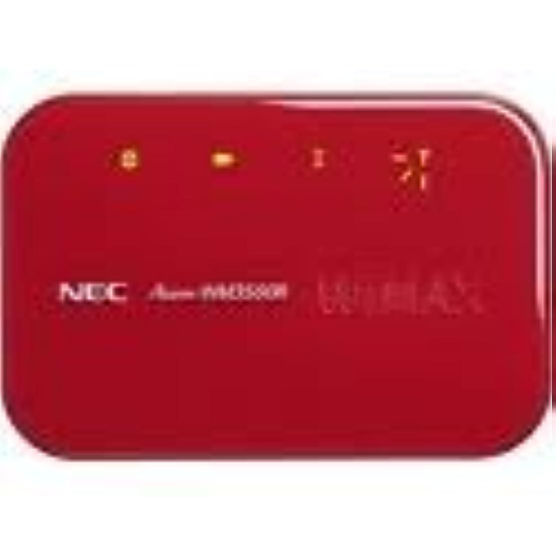 重要虫フォーラム日本電気 DIS mobile WiMAX専用無線WiMAXルーター AtermWM3500R マーズレッド PA-WM3500R(DW)R